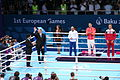 Teymur Mammadov at the awarding ceremony of the 2015 European Games 4.JPG