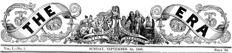 Banner of the first issue, 1838 The-era.jpg