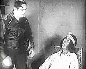 Tote Du Crow - Tote Du Crow (right) with Douglas Fairbanks (left) in the 1920 film The Mark of Zorro