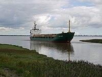"The ""Ivan Bobrov"" approaching Barrow Haven - geograph.org.uk - 1442368.jpg"