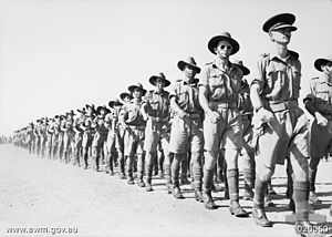 2/2nd Battalion (Australia) - Members of the 2/2nd Battalion in 1941