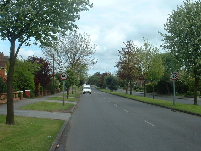 The A41 in Solihull - geograph.org.uk - 172091