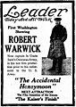 The Accidental Honeymoon 1918 newspaper.jpg