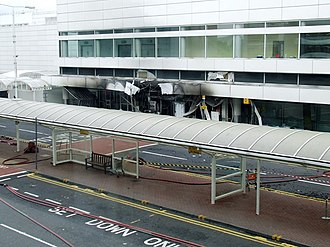 Glasgow Airport - The aftermath of the 2007 Glasgow International Airport attack