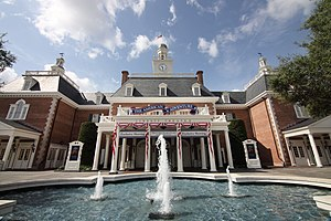 The American Adventure (Epcot) - Image: The American Adventure (23860708488)