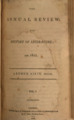 The Annual Review, and History of Literature (1803, vol.1; London).png