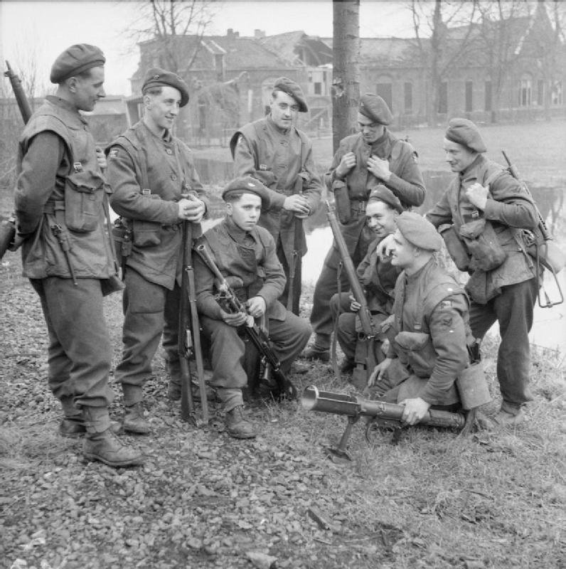 The British Army in North-west Europe 1944-45 B15008