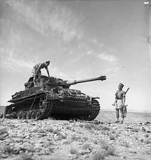 Battle of Medenine - Image: The British Army in Tunisia 1943 NA1106