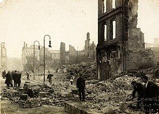 Burning of Cork