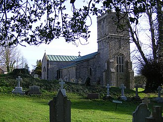 Tolpuddle - Image: The Church of St John the Evangelist, Tolpuddle geograph.org.uk 1592503