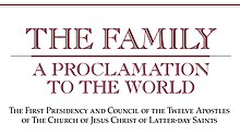 photograph relating to The Family a Proclamation to the World Free Printable referred to as The Family members: A Proclamation in direction of the Worldwide - Wikipedia