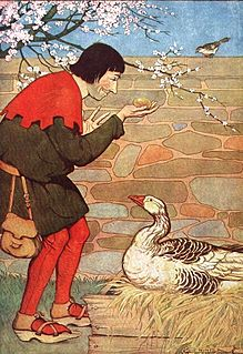 The Goose that Laid the Golden Eggs Aesops Fable