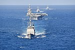 The Harry S. Truman Carrier Strike Group participates in a strait exercise in the Atlantic Ocean..jpg