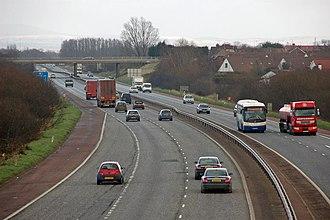 M1 motorway (Northern Ireland) - M1-M12, near Portadown