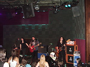 The Magic Numbers - The Magic Numbers in 2006, left to right: Angela Gannon, Romeo Stodart, Michele Stodart (not pictured: Sean Gannon behind drum kit.)