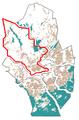 The Map of Keski-Espoo at Espoo in Finland.png