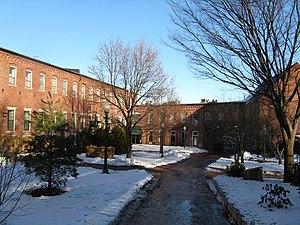 Amesbury and Salisbury Mills Village Historic District - The Millyard