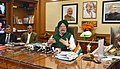The Minister of State for Housing and Urban Affairs (IC), Shri Hardeep Singh Puri addressing the press conference, in New Delhi on January 31, 2018.jpg