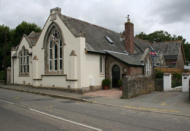 The Old School, Grampound Road - geograph.org.uk - 200282