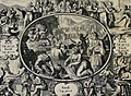 The Phillip Medhurst Picture Torah 470. Offerings for the sanctuary. Exodus cap 36 v 6. De Hooghe.jpg
