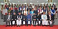 The President, Shri Ram Nath Kovind in a group photograph at the Legislators at a special session of Arunachal Pradesh Assembly, at Itanagar, in Arunachal Pradesh.jpg