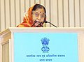 The President, Smt. Pratibha Devisingh Patil addressing at the presentation ceremony of the National Awards for the Empowerment of Persons with Disabilities, 2010, in New Delhi on December 03, 2010.jpg