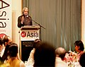 The President Dr A.P.J. Abdul Kalam addressed to Asia Society at Peninsula Hotel in Manila, Philippines on 5 February 2006.jpg