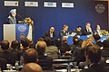 The Prime Minister, Dr. Manmohan Singh addressing the closing session of India-EU Business Summit in Helsinki, Finland on October 12, 2006.jpg