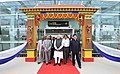 The Prime Minister, Shri Narendra Modi at the inauguration of the Pakyong Airport, in Gangtok, Sikkim.JPG