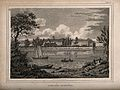 The Royal Hospital, Chelsea; viewed from the Surrey bank wit Wellcome V0012902.jpg