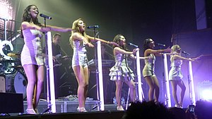The Saturdays - The Saturdays performing at The Civic Hall in Wolverhampton on 20 June 2009