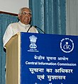 The Speaker, Lok Sabha, Shri Somnath Chatterjee addressing the Valedictory Session at the 3rd Annual Convention on RTI, organized by Central Information Commission, in New Delhi on November 04, 2008.jpg