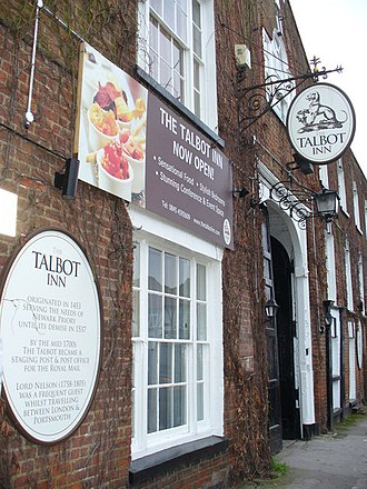 Ripley, Surrey - A listed coaching inn, The Talbot Hotel