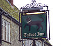 The Talbot Inn Sign - geograph.org.uk - 299011.jpg