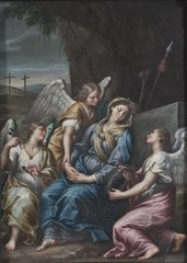 The Virgin Mourning at the Tomb