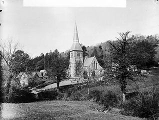 The church, Llandygwydd