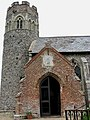 The church of SS Peter and Paul - porch and tower - geograph.org.uk - 930281.jpg