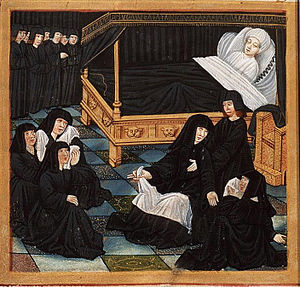 Philippe de Commines - The deathbed of Philippe de Commines.