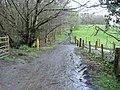 The end of Mainholm Road - geograph.org.uk - 764232.jpg