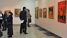 The exhibition 10 years Artel of Belarusian Artists 21.01.2015 05.JPG