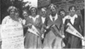 The faculty of South Dakota's suffrage school (1918).png