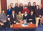 The fourteen women Senators of the 108th Congress.jpg