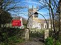 The gateway to St Wynwallow churchyard - geograph.org.uk - 1764324.jpg