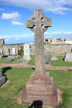 James Bell Pettigrew - The grave of James Bell Pettigrew, Eastern Cemetery, St Andrews
