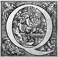 The initial 'Q' showing vivsection experiment, by Vesalius. Wellcome M0016118.jpg