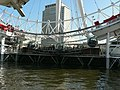 The landing platform, the London Eye - geograph.org.uk - 592612.jpg