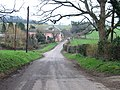 The road heading SE from West Langdon - geograph.org.uk - 334498.jpg