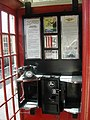 The telephone box at Cranmore Station, East Somerset Railway - geograph.org.uk - 339530.jpg