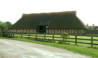 Cressing Temple - The wheat barn at Cressing Temple.