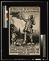 "The zeppelin raids- the vow of vengeance. Drawn for ""The Daily Chronicle"" by Frank Brangwyn A.R.A LCCN2003675359.jpg"